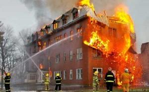 отключение вентиляции при пожаре