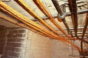 Огнестойкая кабельная линия.
