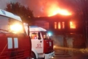 пожар на Тушинском машиностроительном заводе 2