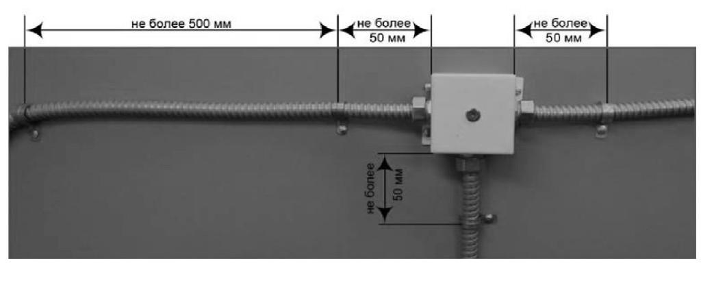 крепление кабельных сетей 9