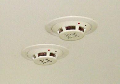 нормы монтажа пожарных извещателей на подвесном потолке -2gif