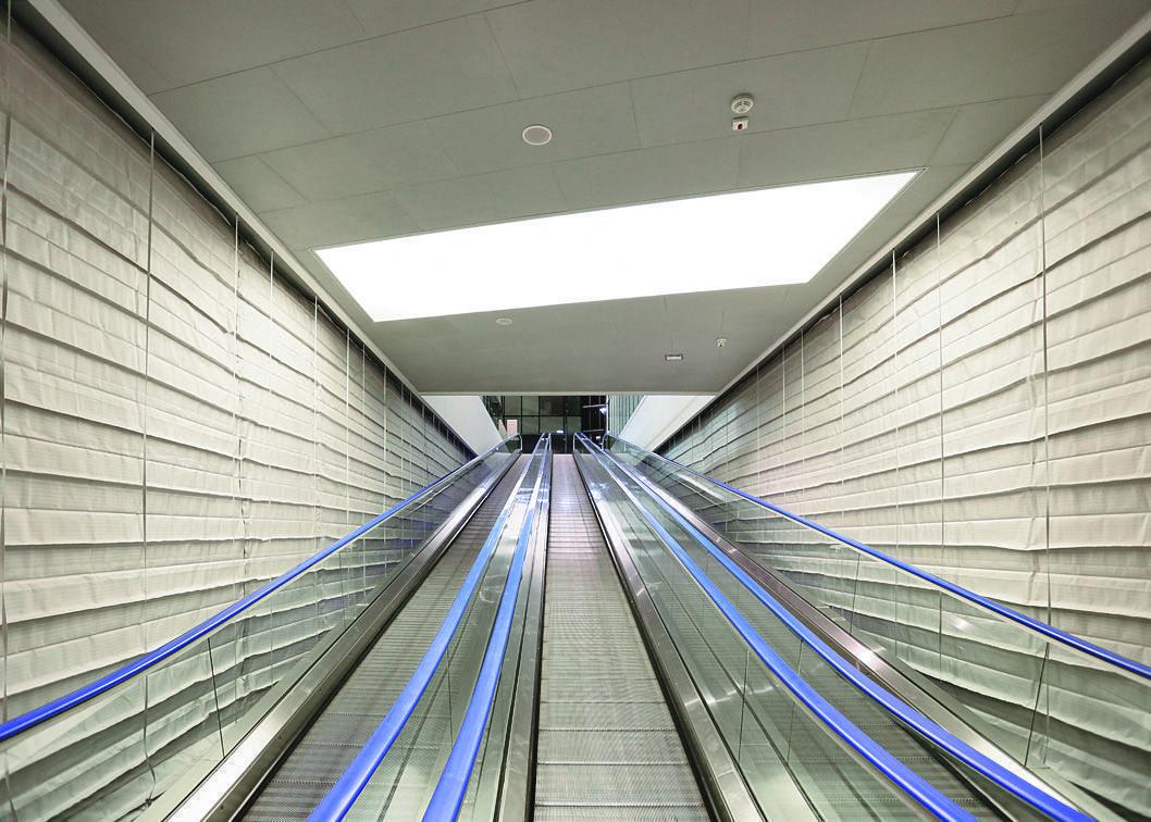 эскалатор отсечка